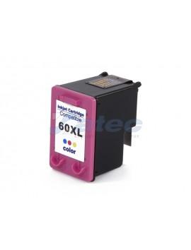 Cartucho Tinta HP 60XL - Colorido 18ml