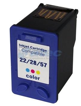 Cartucho Tinta HP 22X Color 18ml PO